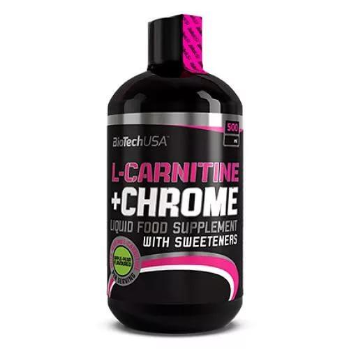 Liquid L-carnitine+Chrome 500 мл